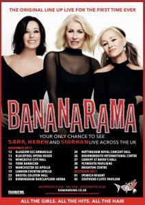 Bananarama Reunion UK Tour Flyer